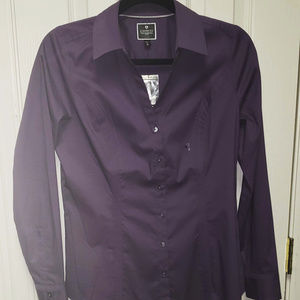 Express The Essentials Button Up NWT